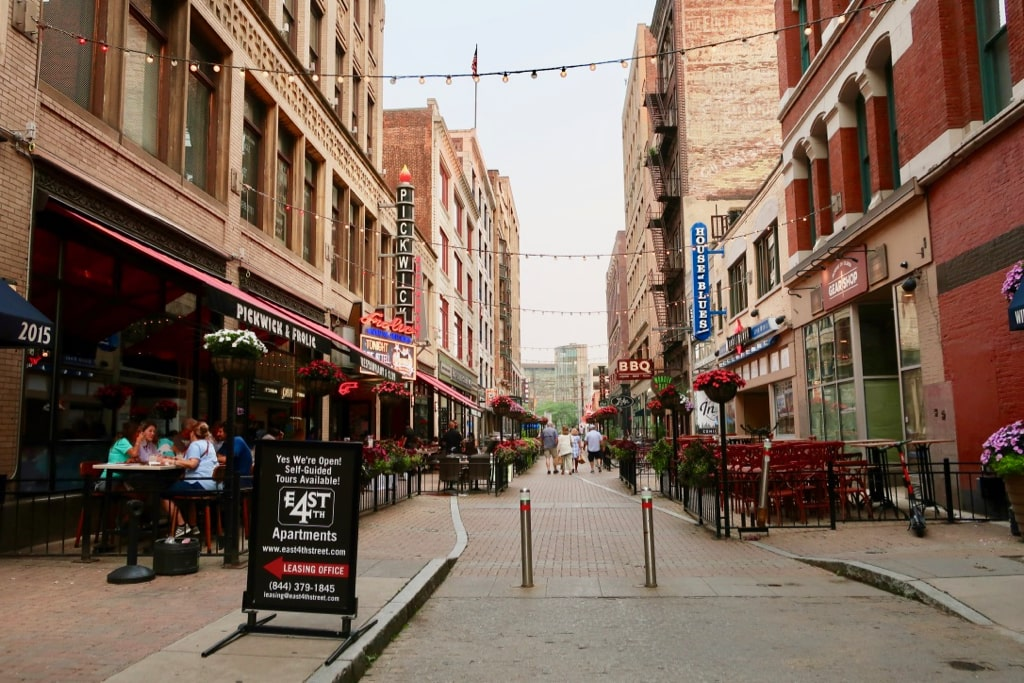 East 4th St. Pedestrian Mall Cleveland OH