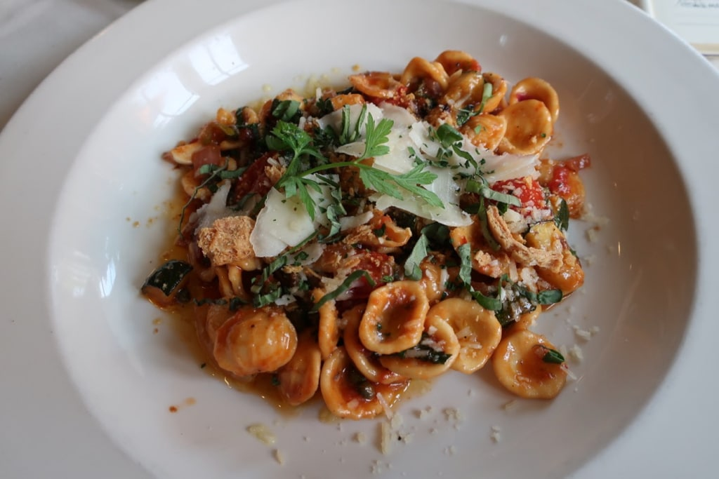 Summer Pasta dish Elizabeths Lewisburg PA
