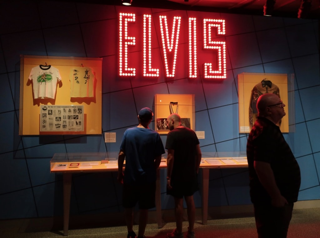 Elvis exhibit at Rock and Roll HOF Cleveland OH