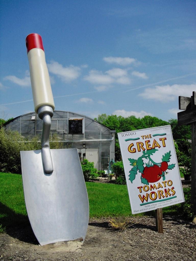 Farming exhibit at Metroparks Farmpark Kirtland OH