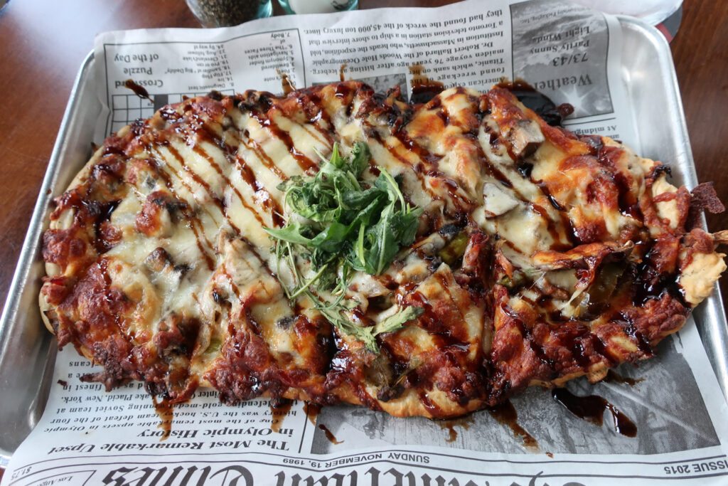 Flatbread Pizzas Jackass Brewing Lewisburg PA