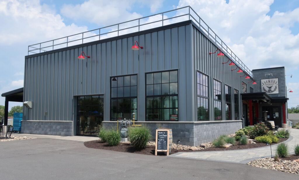 Jackass Brewery building Lewisburg PA Susquehanna River Valley