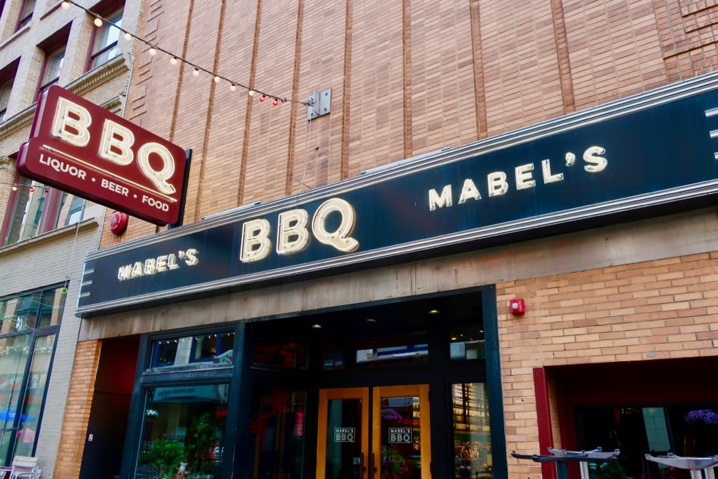 Michael Symon's Mabel's BBQ 4th St Cleveland OH
