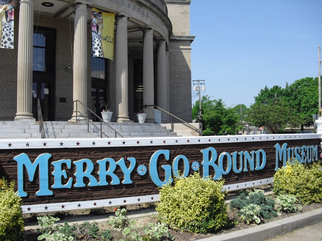 Merry Go Round Museum in old Sandusky OH Post Office