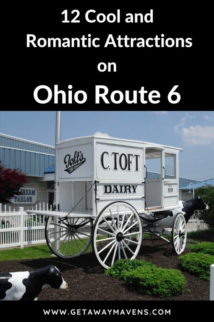 Cool Romantic Stops on Ohio Route 6 Pin