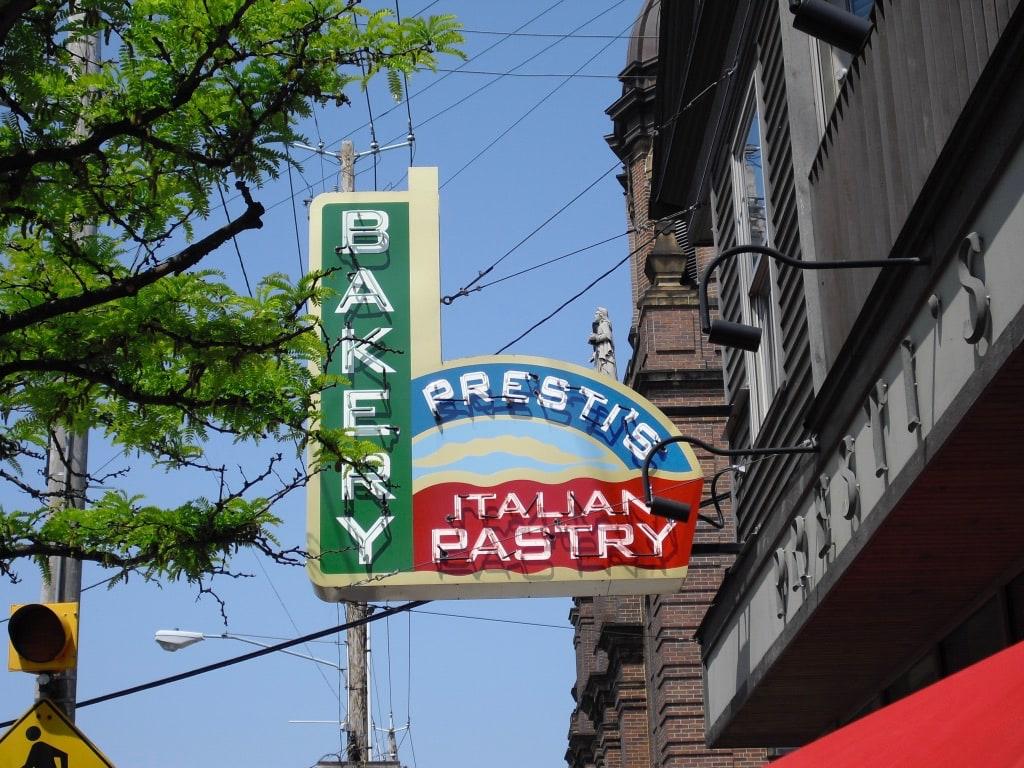 Presti's Italian Pastry Bakery Cleveland OH
