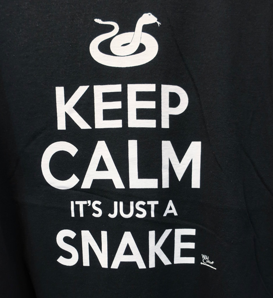 T-shirt sold in Clyde Peelings Reptiland Allenwood PA