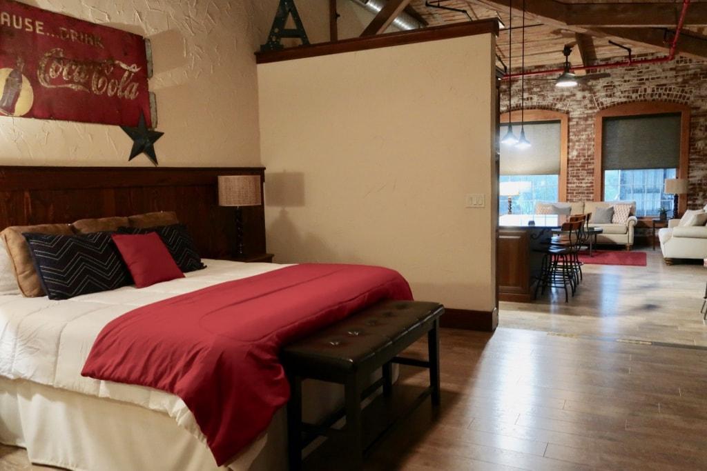 Typical suite at Rusty Rail Suites Mifflinburg PA