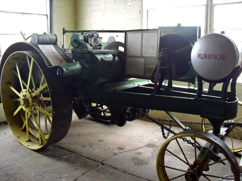 First tested tractor 1915 Waterloo Boy Lincoln NE