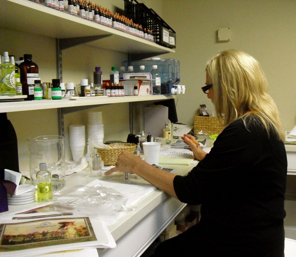 Owner Renee at Annie Oakley Perfumery Ligonier IN