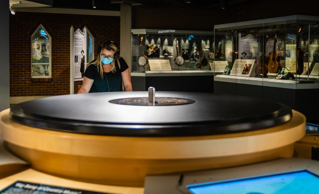 Birthplace of Country Music Museum recording exhibit