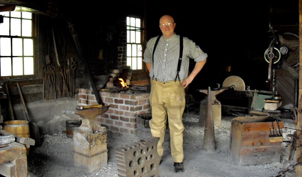 Town Blacksmith at Living History Farms Urbandale IA