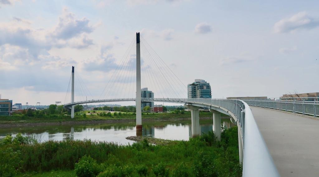 Bob Kerrey Pedestrian Bridge Nebraska to Iowa