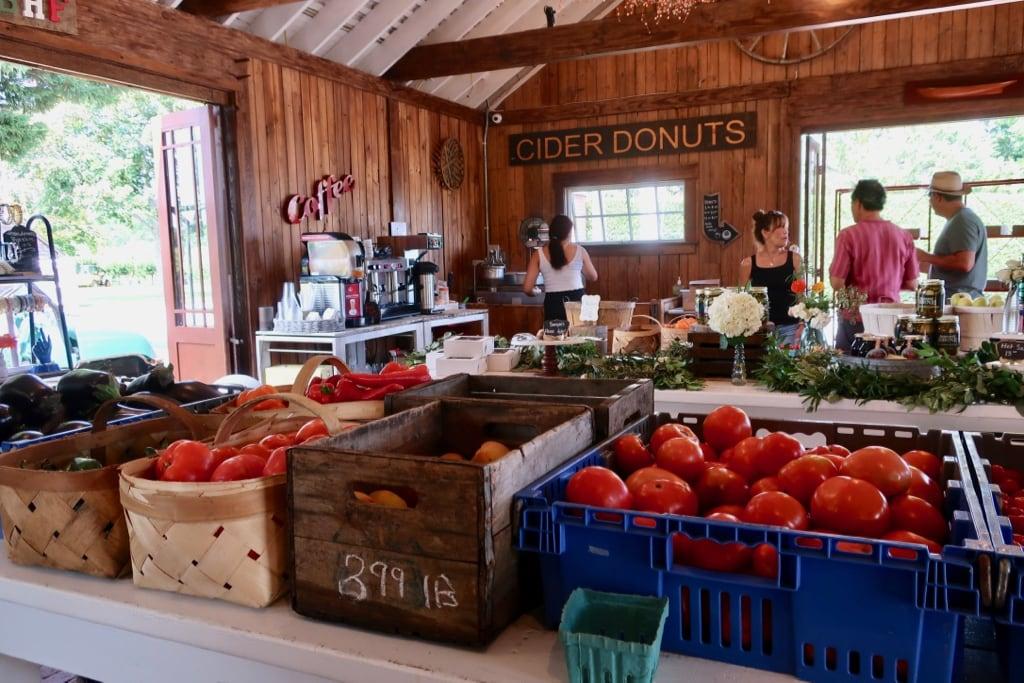 Breeze Hill Farm roadside market Peconic NY