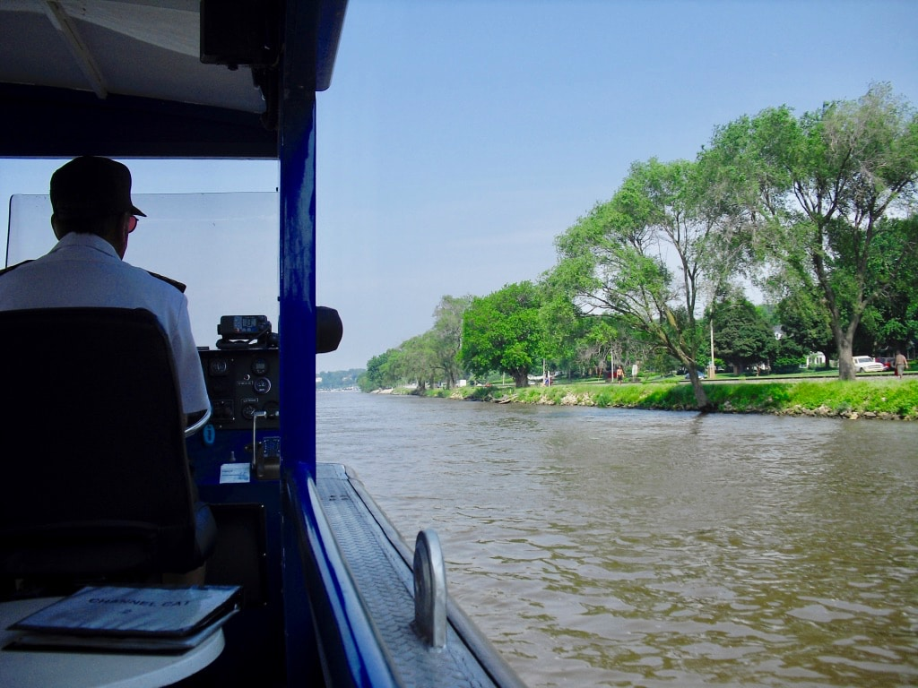 On Channel Cat Water Taxi Moline IL