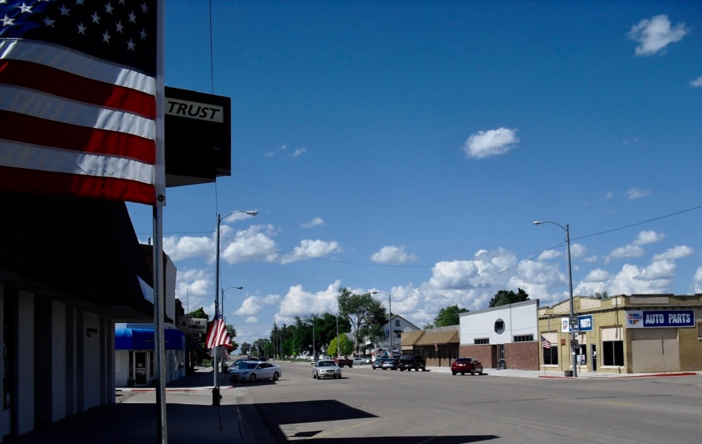 Downtown Imperial Nebraska