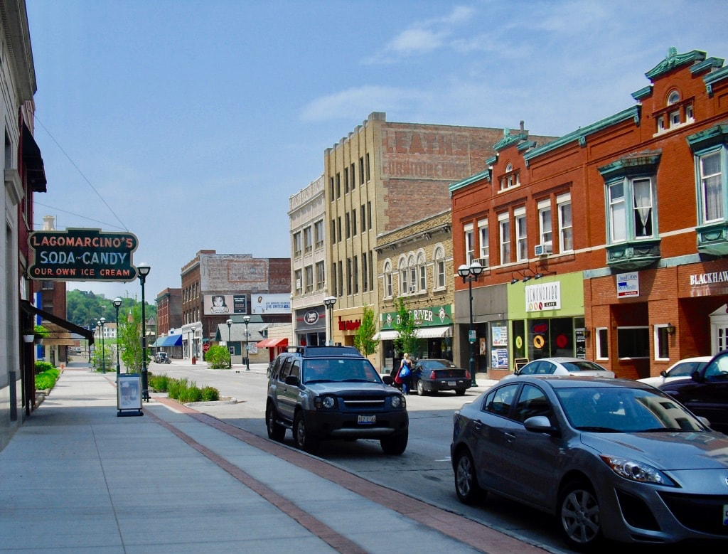 Downtown Moline IL