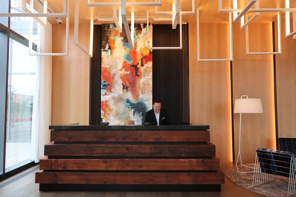 Reception at Farnam Hotel Omaha