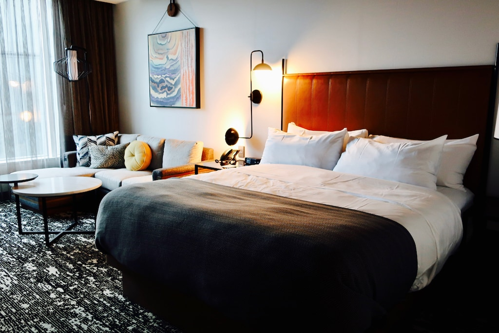 Farnam Hotel Guest Room Omaha