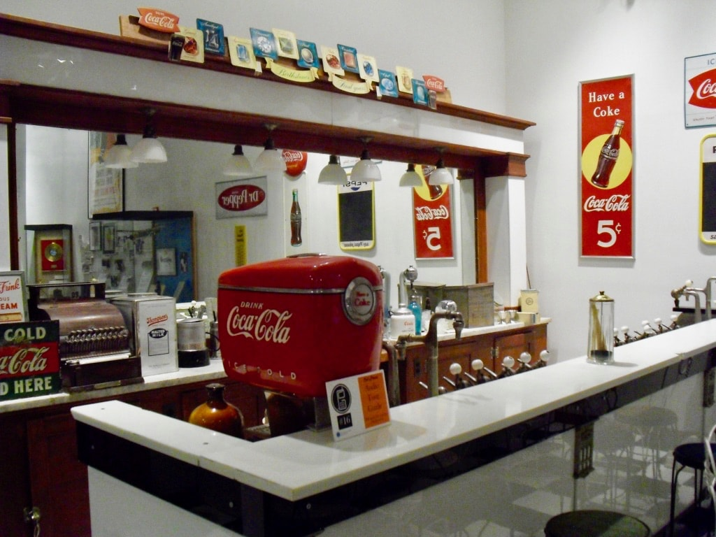 Hillrose Soda Fountain at Fort Morgan CO Library Museum M