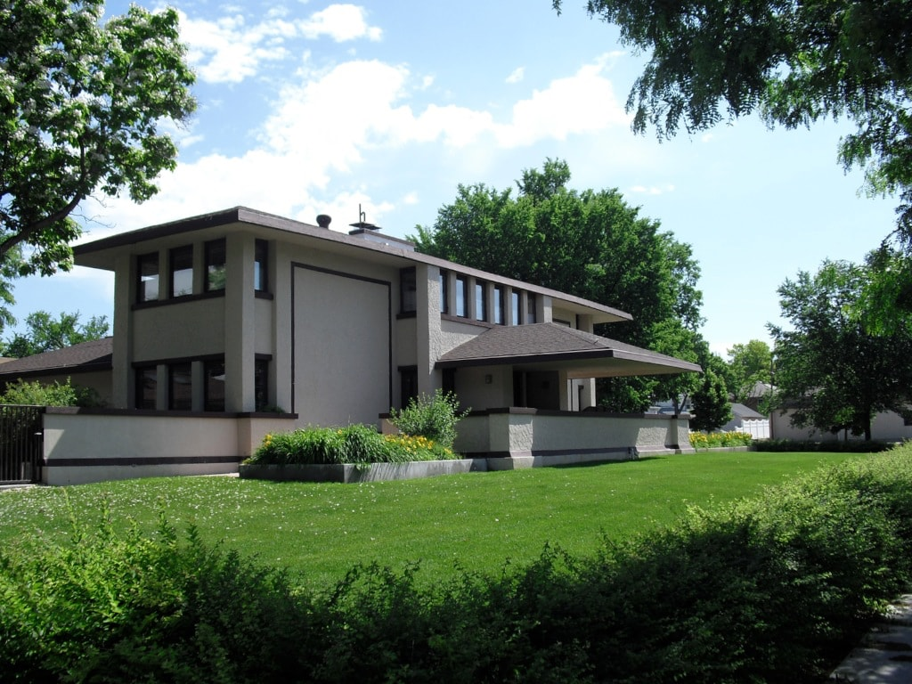 Frank Lloyd Wright private home in McCook NE