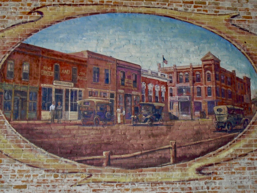 Friend NE Opera House and Downtown Mural at Pour House