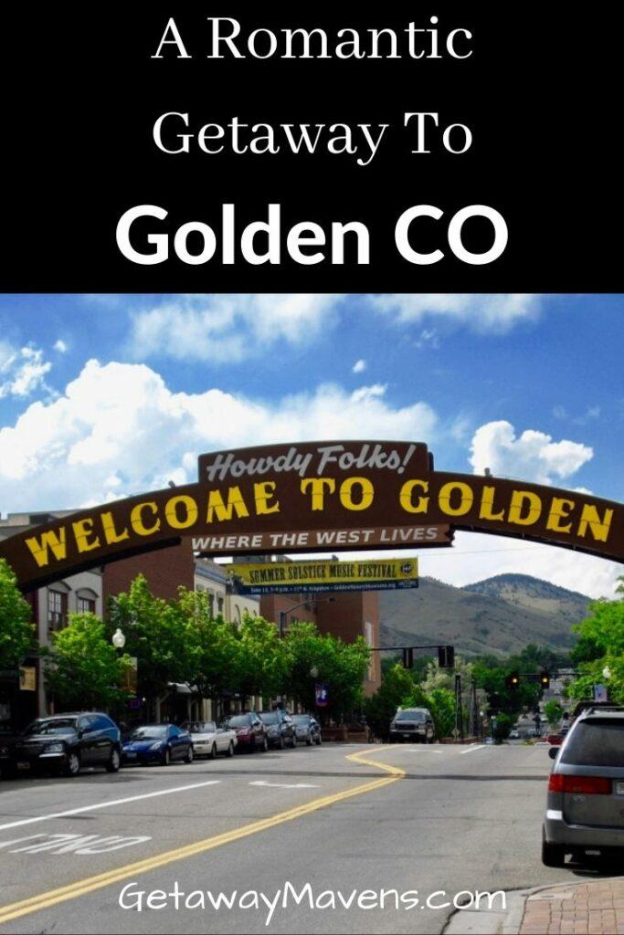 Golden CO Getaway Pin