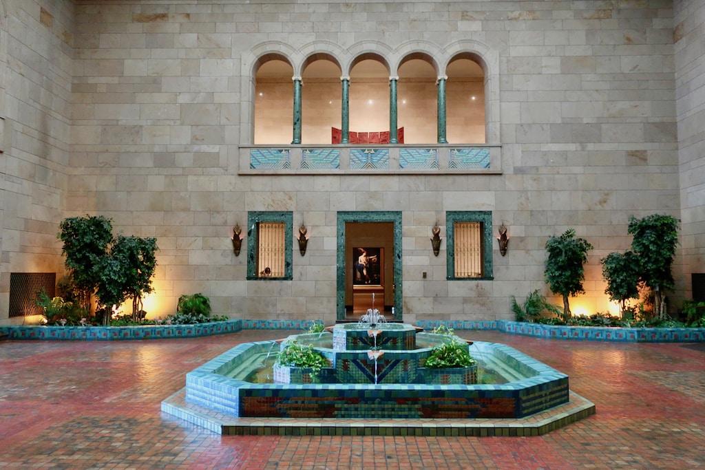 Fountain Room Joslyn Museum Omaha