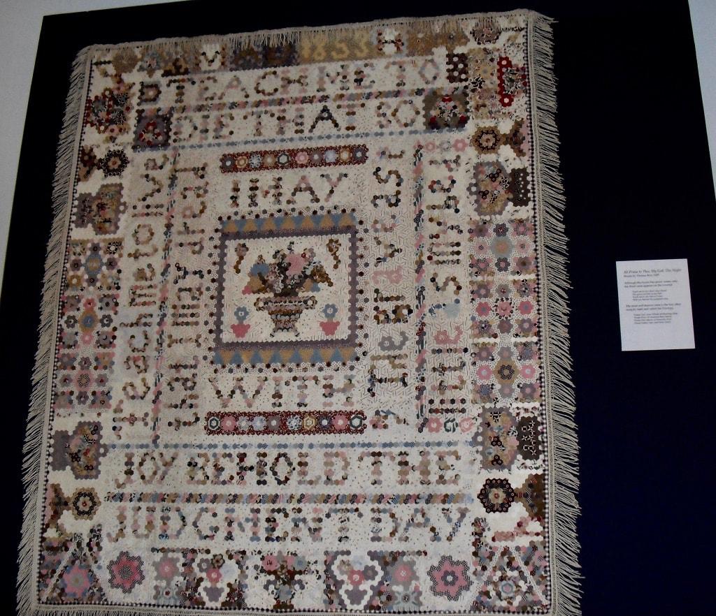 Antique quilt at International Quilt Museum Lincoln NE