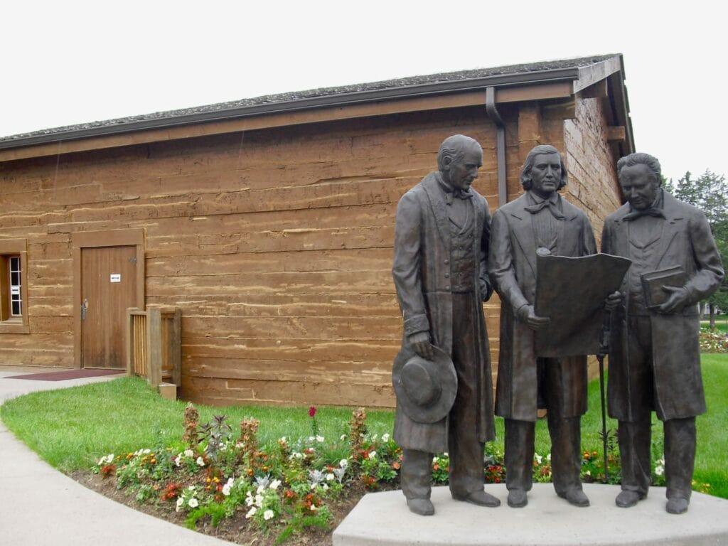 Mormon Tabernacle recreation Council Bluffs IA