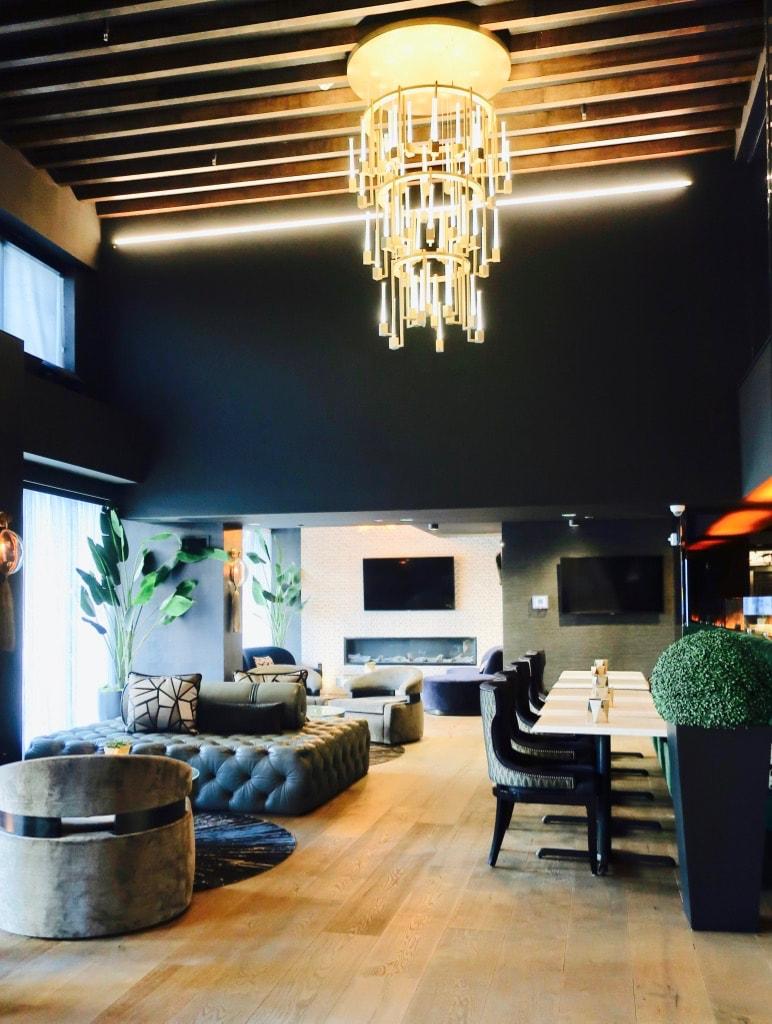 Intimate lobby Kindler Hotel Lincoln NE