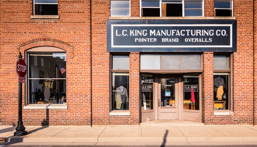 L.C. King Manufacturing factory store.