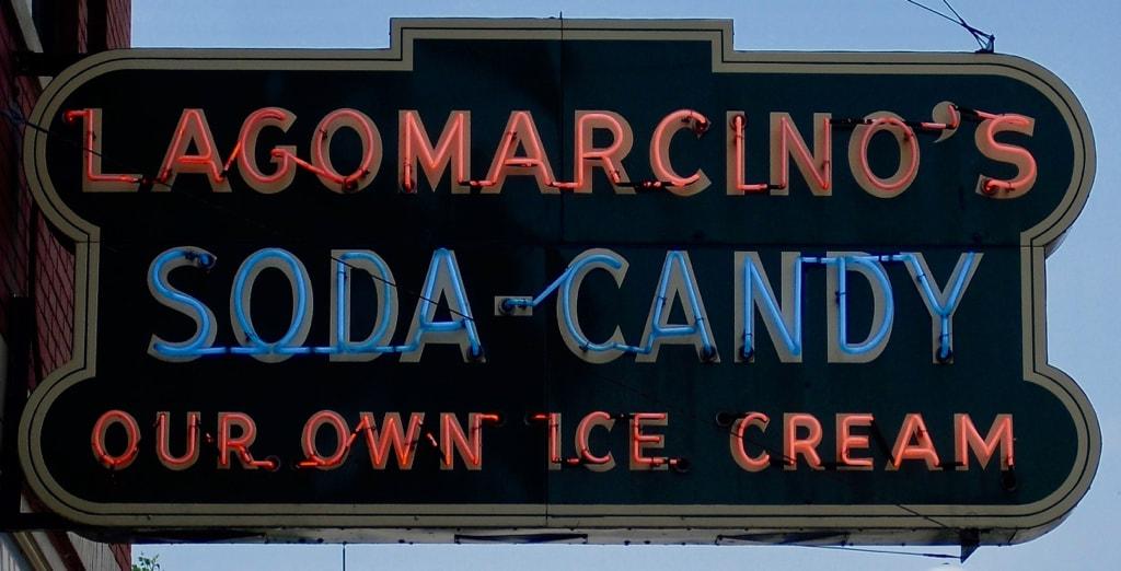 Lagomarcino's Soda ice cream shop Moline IL