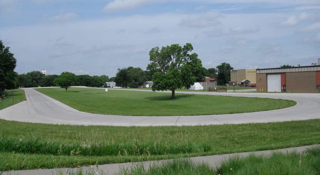 Tractor Test Oval at Lester Larson Tractor Test Museum UNL
