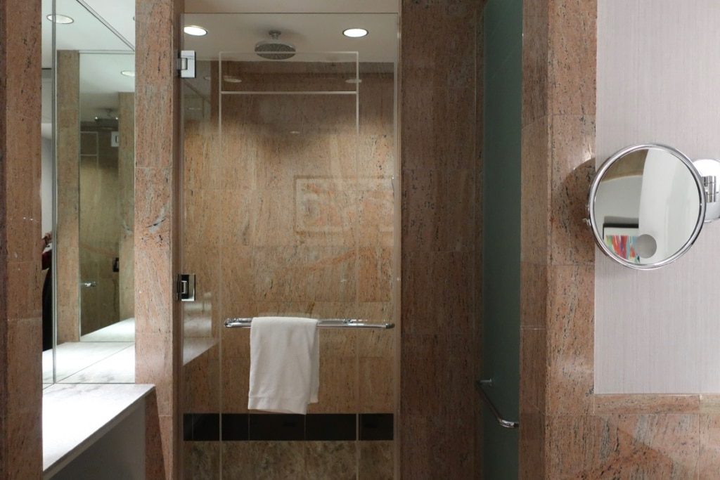 Marble Shower-Bathroom Opus Westchester NY