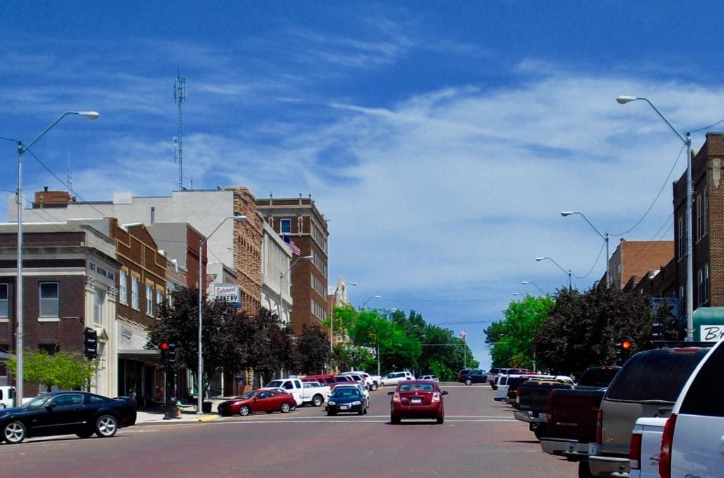 Downtown McCook NE