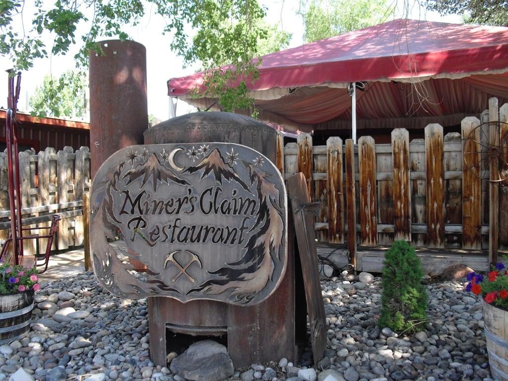 Miners Claim Restaurant Silt CO