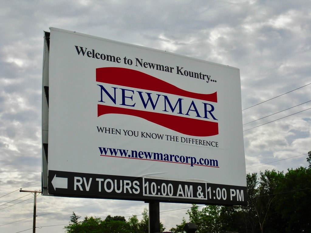 NewMar RV factory owned by Amish in Nappanee IN