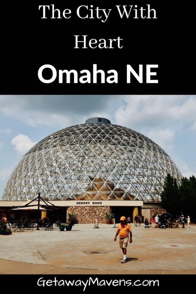 Omaha NE Getaway Pin