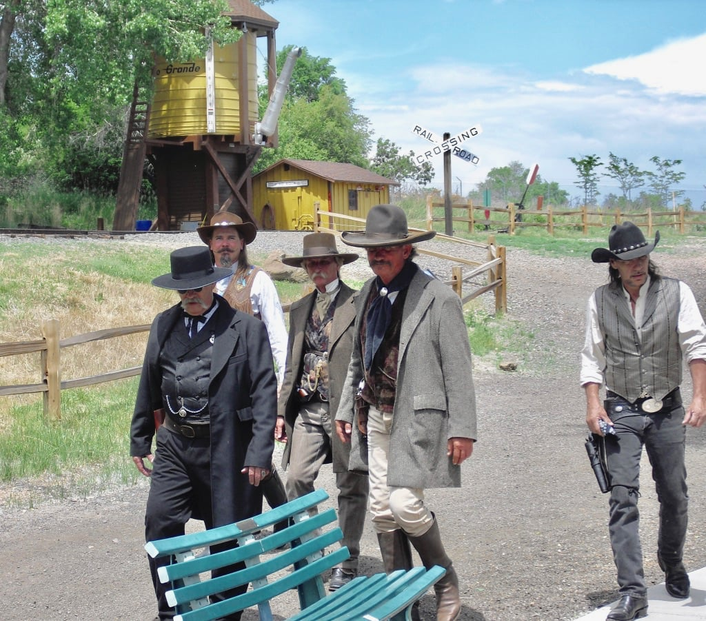 Outlaw actors in Golden CO