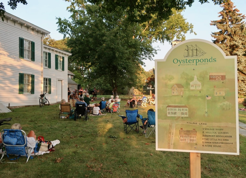 Evening concert at Oysterponds Orient NY