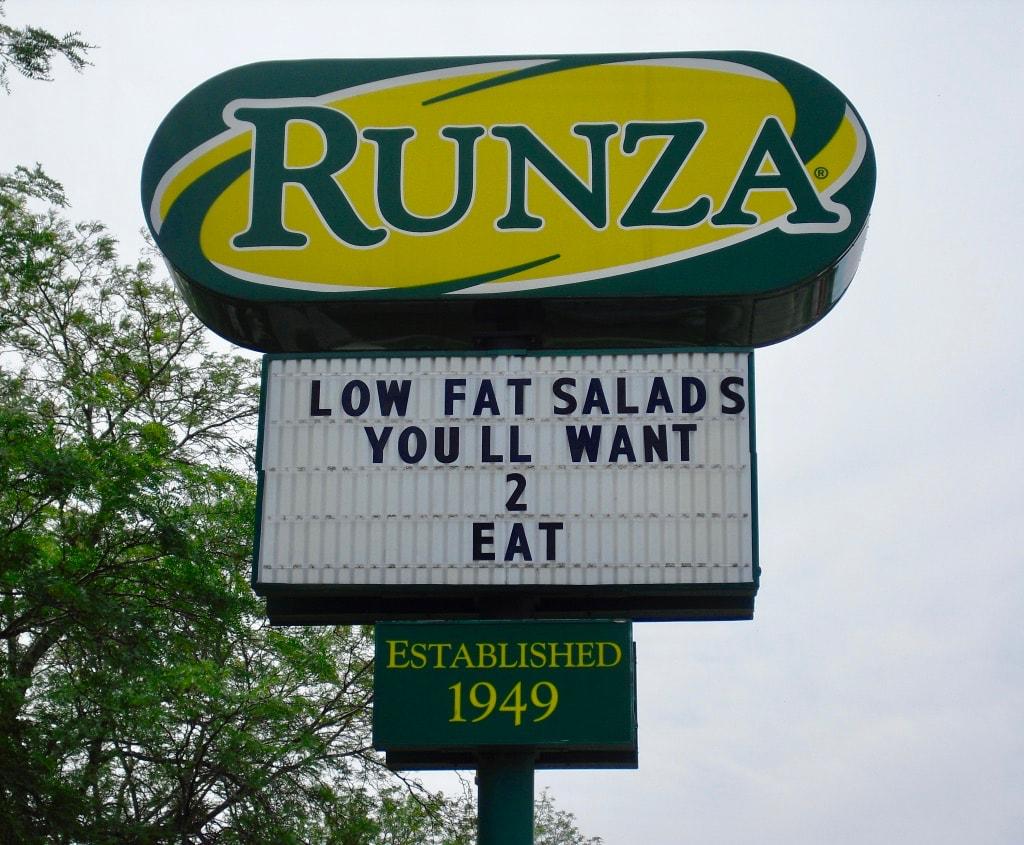 Runza a Nebraska iconic food