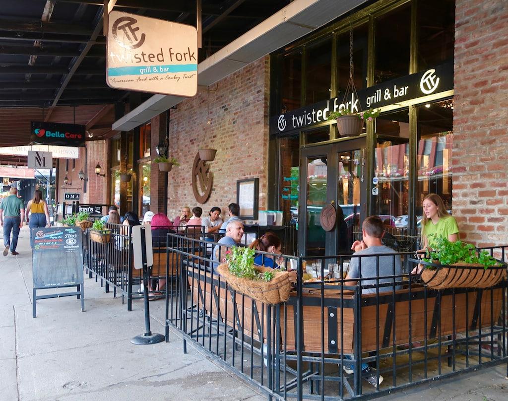 Twisted Fork restaurant Old Market Omaha NE