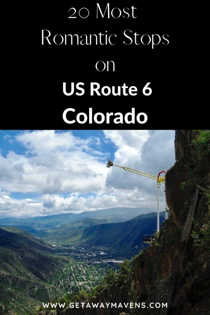 US Route 6 Colorado pin