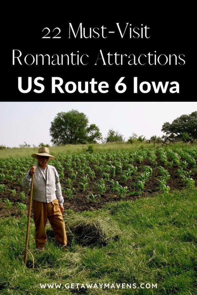Drive US Route 6 Iowa Pin