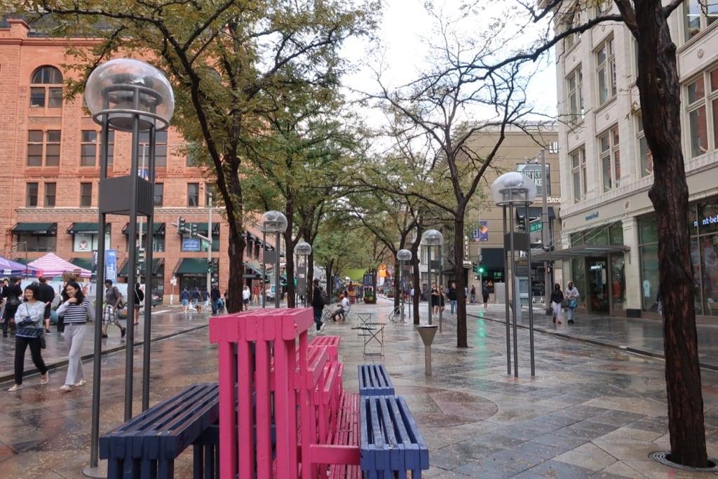 16th Street Pedestrian Mall Denver