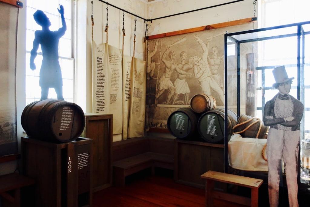 Amistad Exhibit New London Customs House