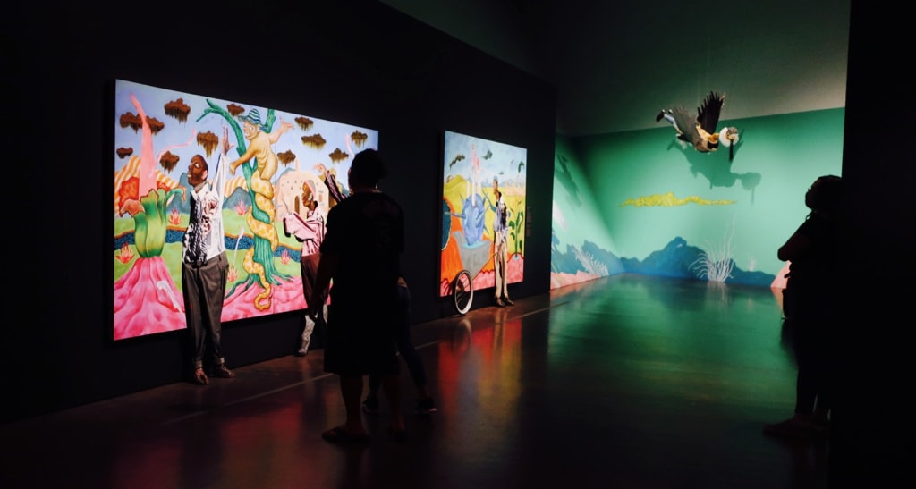 Rotating Exhibit at Denver Art Museum