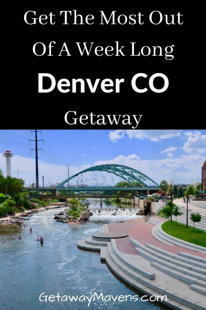 A Week In Denver CO Pin