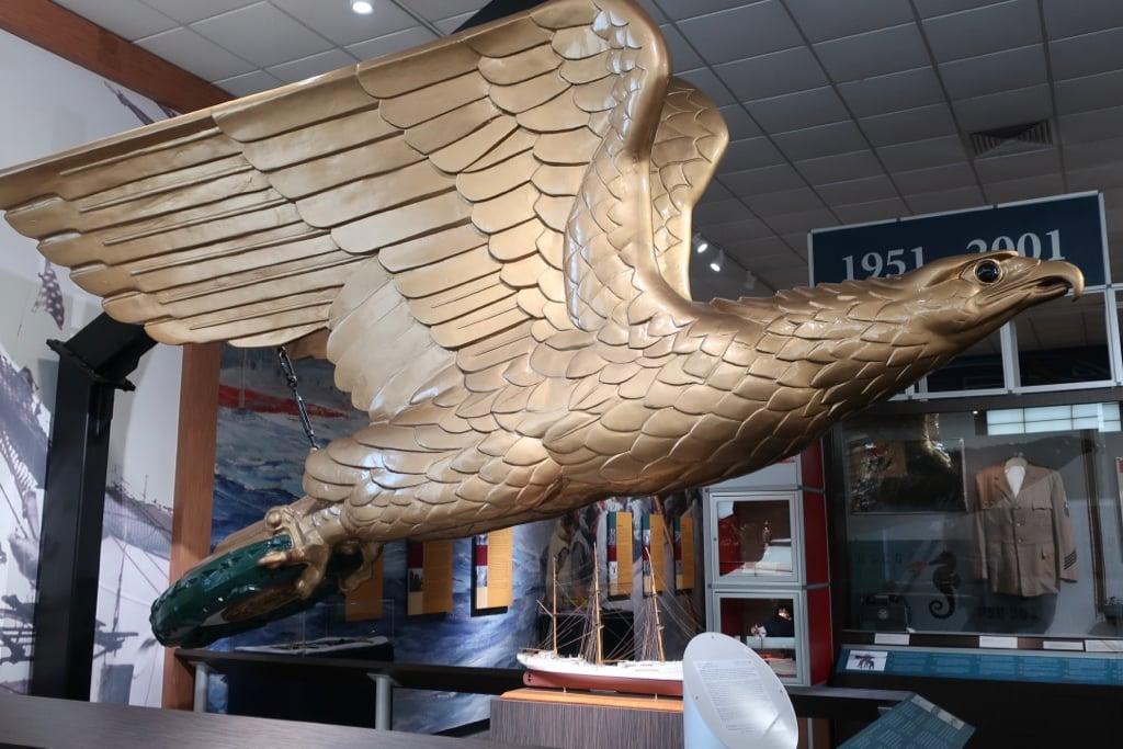 Eagle Figurehead US Coast Guard Museum New London CT
